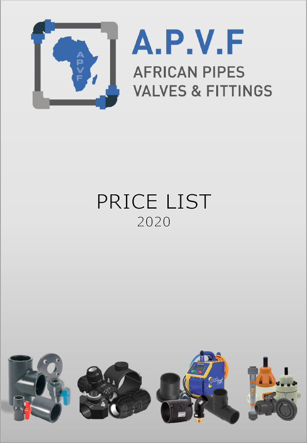 APVF Price List - January 2020